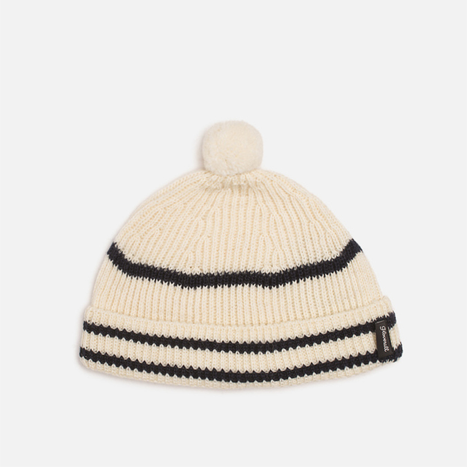 Шапка Gloverall Bobble Hat Natural