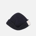 Шапка Gloverall Naval Beanie Navy фото- 2