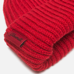 Шапка Gloverall Naval Beanie Red фото- 1