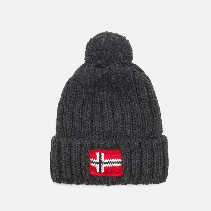 Napapijri Semiury Children's hat Dark Grey Melange
