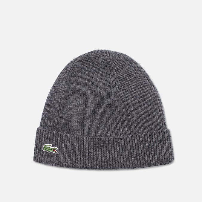 Мужская шапка Lacoste Beanie Grey
