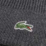 Мужская шапка Lacoste Beanie Grey фото- 1