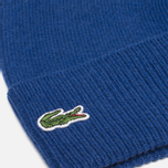 Мужская шапка Lacoste Beanie Mixed Wool Blue фото- 1
