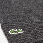 Мужская шапка Lacoste Beanie Mixed Wool Dark Grey фото- 1