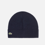 Lacoste Beanie Mixed Wool Navy photo- 0