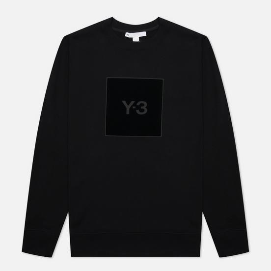 Мужская толстовка Y-3 Square Graphic Logo Crew Neck Black