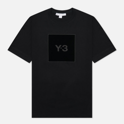 Мужская футболка Y-3 Square Graphic Logo Black