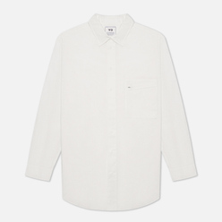 Мужская рубашка Y-3 Classic Chest Logo Button-Down Core White