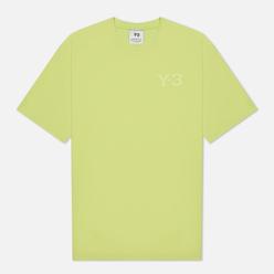 Мужская футболка Y-3 Classic Chest Logo Y-3 Semi Frozen Yellow