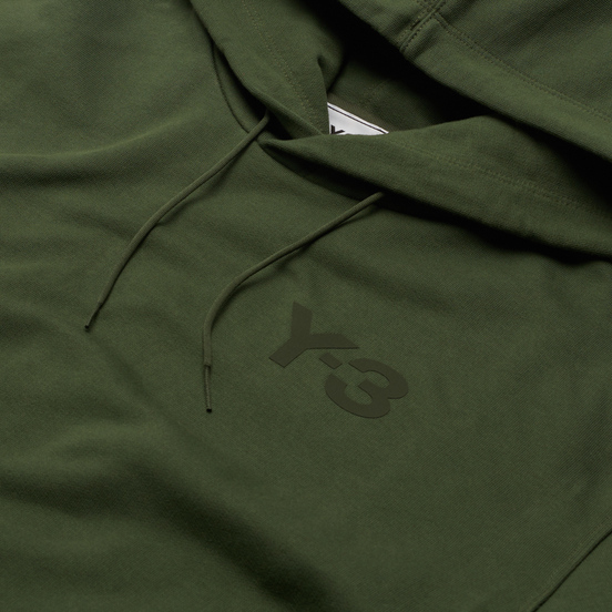 Мужская толстовка Y-3 Classic Chest Logo Y-3 Hoodie Shadow Green