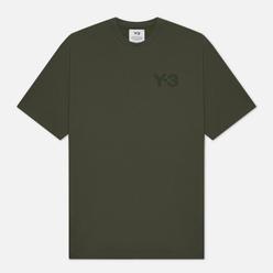 Мужская футболка Y-3 Classic Chest Logo Y-3 Shadow Green