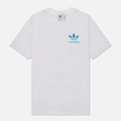 Мужская футболка adidas Originals Moscow Trefoil 2.0 White