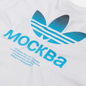 Мужская футболка adidas Originals Moscow Trefoil 2.0 White фото - 2