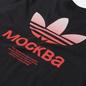 Мужская футболка adidas Originals Moscow Trefoil 2.0 Black фото - 2