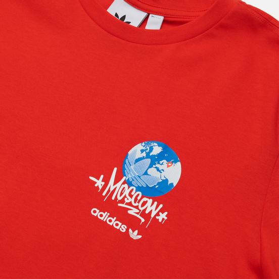 Мужская футболка adidas Originals Moscow Red