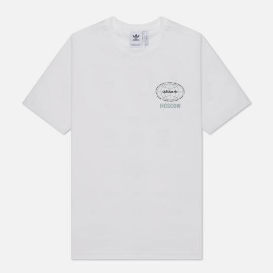 Мужская футболка adidas Originals Moscow World Tour White