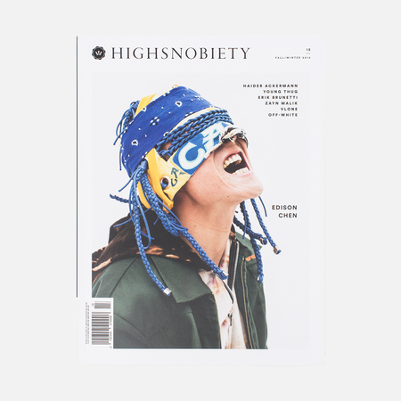 Журнал Highsnobiety Issue 13 Fall/Winter 2016 Edison Chen