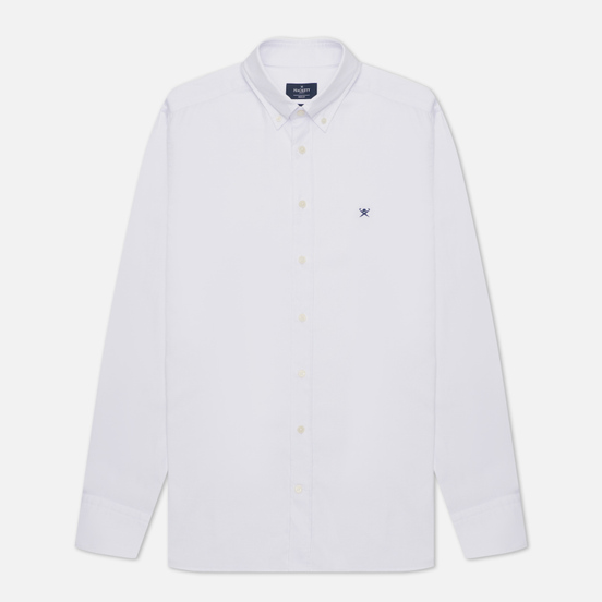 Мужская рубашка Hackett Continuity Washed Oxford White