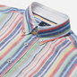 Мужская рубашка Hackett Multi Coloured Stripe Oxford Multi фото - 1