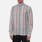 Мужская рубашка Hackett Multi Coloured Stripe Oxford Multi фото - 2