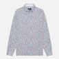 Мужская рубашка Hackett Floral Outline Print White/Multi фото - 0