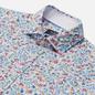 Мужская рубашка Hackett Floral Outline Print White/Multi фото - 1