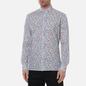 Мужская рубашка Hackett Floral Outline Print White/Multi фото - 2