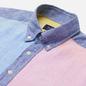 Мужская рубашка Hackett Multi Panel Linen Multi фото - 1