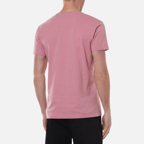 Мужская футболка Hackett London Logo Washed Rose