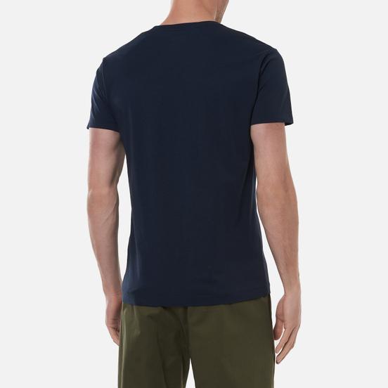 Мужская футболка Hackett London Logo Dark Navy