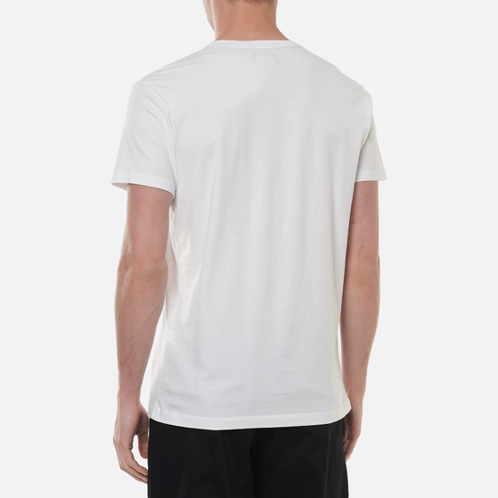 Мужская футболка Hackett London Logo White