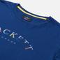 Мужская футболка Hackett London Color Logo Blue Depth фото - 1