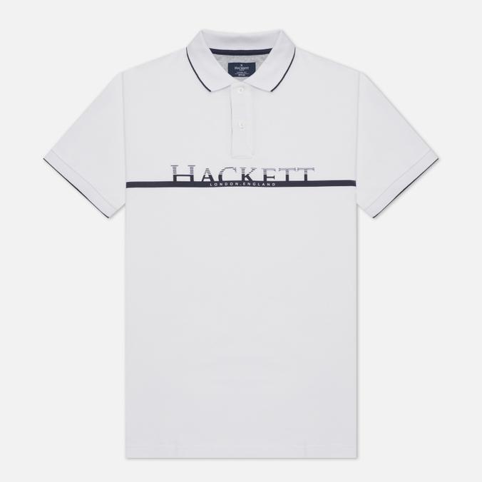 Мужское поло Hackett Graphic Logo