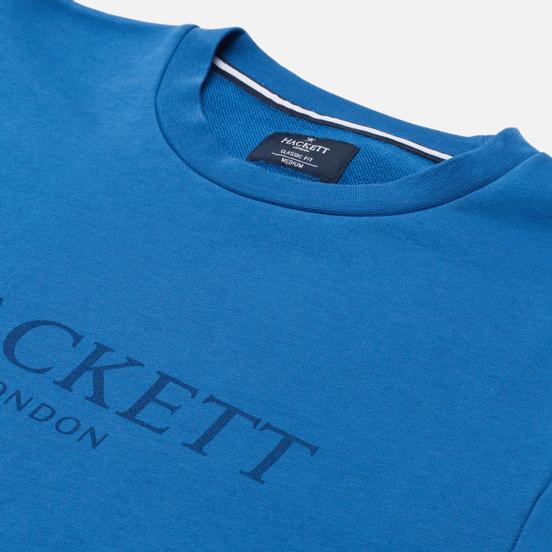Мужская толстовка Hackett London Logo Crew Neck Marine
