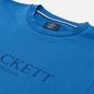 Мужская толстовка Hackett London Logo Crew Neck Marine фото - 1