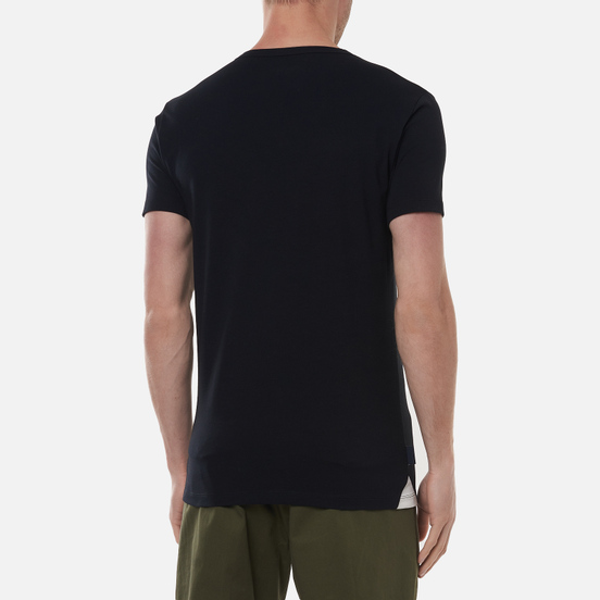 Комплект мужских футболок Hackett Crew Neck 2-Pack Black