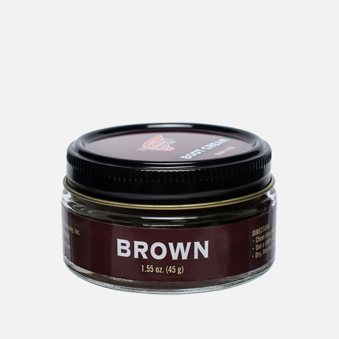 Red Wing Shoes Shoe Polish Brown 45g