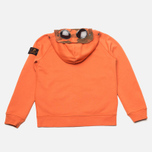 Детская толстовка C.P. Company U16 Full Zip Goggle Hoodie Orange фото- 4