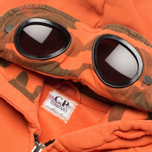 Детская толстовка C.P. Company U16 Full Zip Goggle Hoodie Orange фото- 1