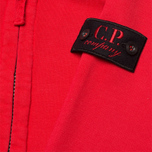 C.P. Company U16 Full Zip Goggle Hoodie Red photo- 2