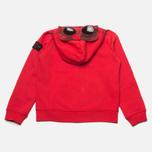 Детская толстовка C.P. Company U16 Full Zip Goggle Hoodie Red фото- 4