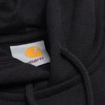 Мужская толстовка Carhartt WIP Hooded Chase Black фото- 2