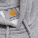 Мужская толстовка Carhartt WIP Hooded Chase Grey Heather фото- 2