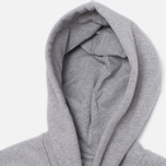Мужская толстовка Carhartt WIP Hooded Chase Grey Heather фото- 1