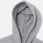 Мужская толстовка Carhartt WIP Hooded Chase Grey Heather фото- 1