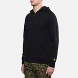 Мужская толстовка Carhartt WIP Hooded Chase Jacket Black фото- 1