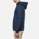 Carhartt WIP Hooded Chase Jacket Blue Penny photo- 2