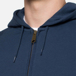 Мужская толстовка Carhartt WIP Hooded Chase Jacket Blue Penny фото- 5