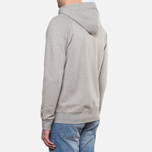 Мужская толстовка Carhartt WIP Hooded Chase Jacket Grey Heather фото- 3