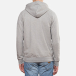Мужская толстовка Carhartt WIP Hooded Chase Jacket Grey Heather фото- 4